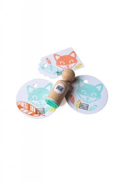 Mini stempel Hello