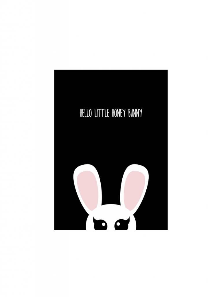 Kaart Honey Bunny