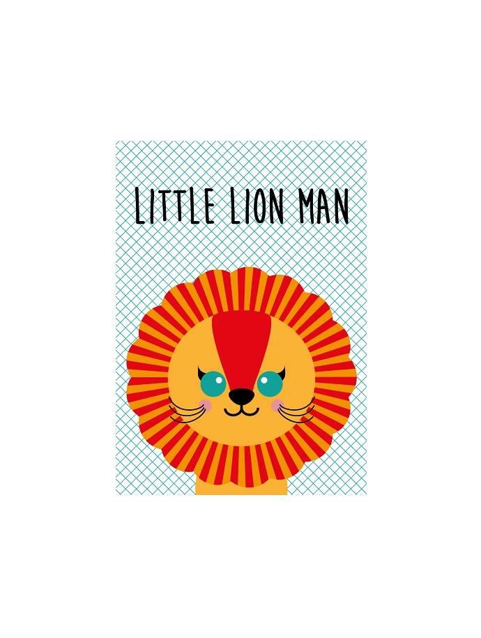 Kaart Little Lion Man