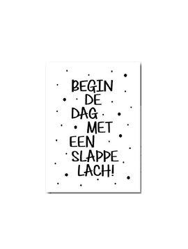 Kaart Slappe lach