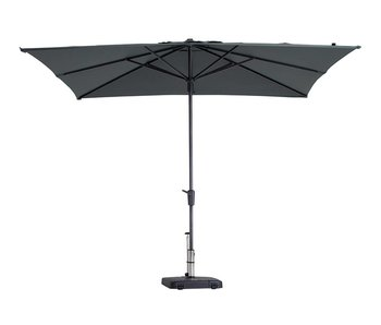 Madison stokparasol Syros luxe 280x280 cm. - grey