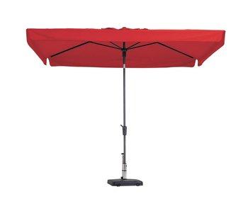 Madison parasol Delos luxe 200x300 cm. - red