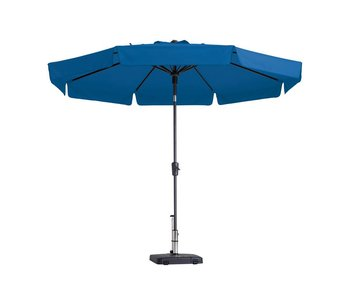 Madison parasol flores luxe 300 cm. polyester turquoise