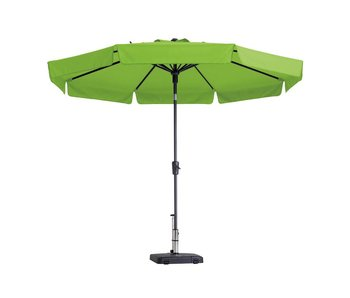 Madison parasol flores luxe 300 cm. polyester lime