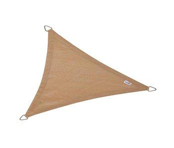Nesling schaduwdoek driehoek zand - 4,0x4,0x5,7 m.
