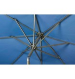 Platinum Riva stokparasol rond 3 meter - Blauw