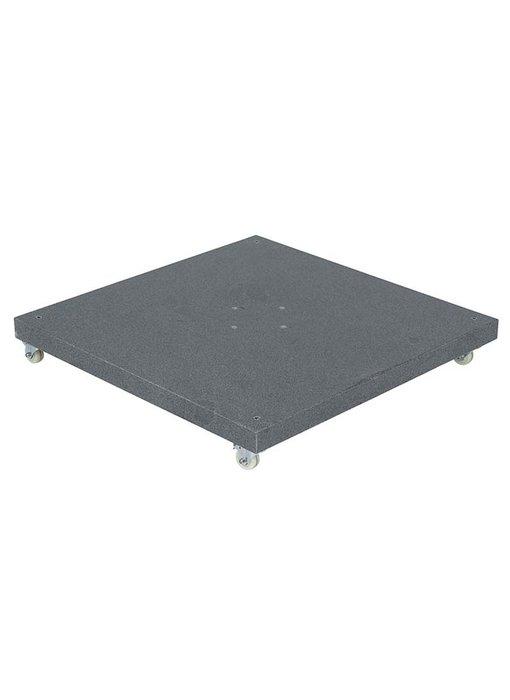 Perfect Shadow Siesta - Hacienda verrijdbare parasolvoet graniet - 120 kg - Valencia