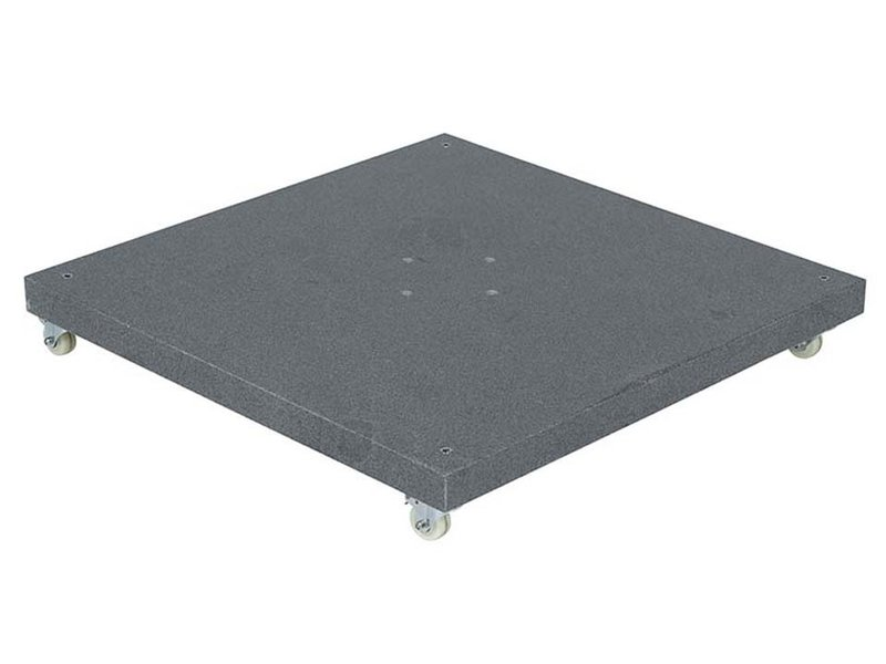 vdgarde Siesta - Hacienda verrijdbare parasolvoet graniet - 120 kg - Valencia