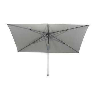 4-Seasons parasol Azzurro 250x250 cm. - mid grey
