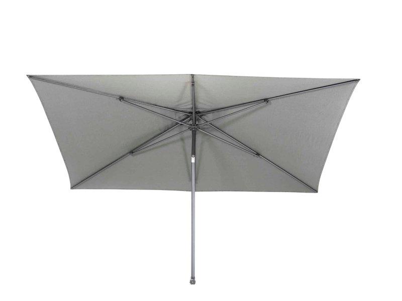 4-Seasons parasol Azzurro 250x250 cm. - mid grey
