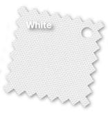 Platinum Riva parasol 350 cm. rond - Wit