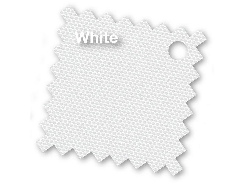 Platinum Riva stokparasol 350 cm. rond - Wit