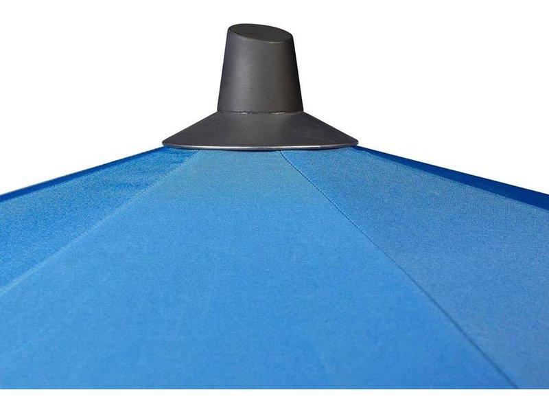 Platinum Riva parasol rond 3 meter - Light grey