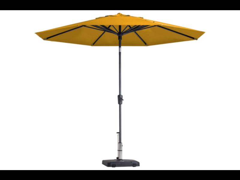 Madison parasol Paros - 300 cm. - Light yellow