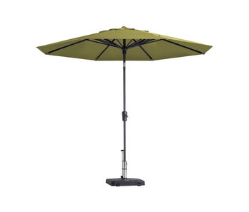 Madison parasol Paros - 300 cm. - Sage green