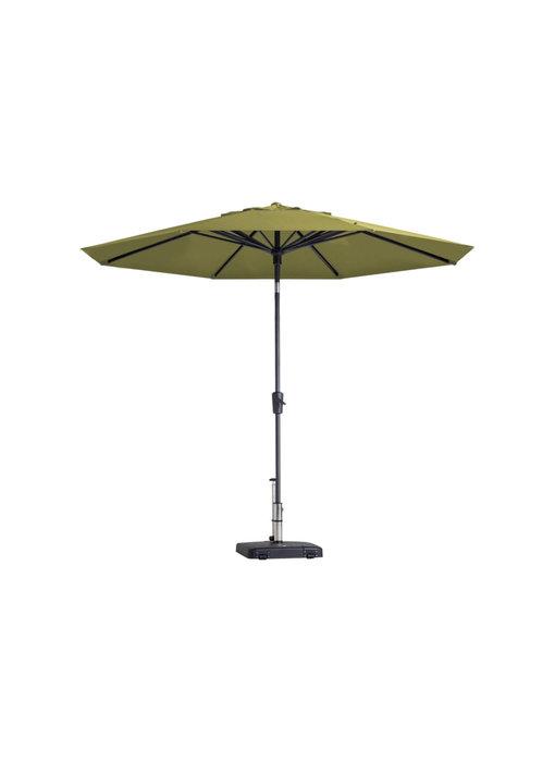 Madison parasol Paros - 300 cm. - Sage green