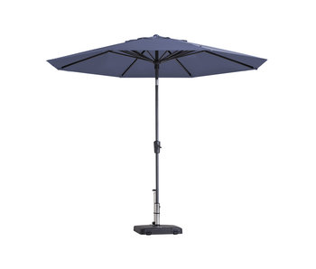 Madison parasol Paros - 300 cm. - Safier blue