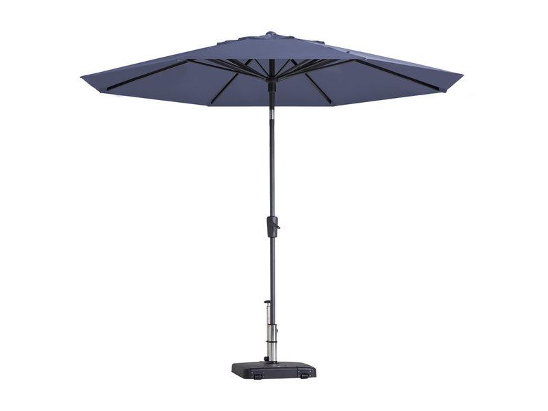 Madison parasol Paros - 300 cm. - Safier blue