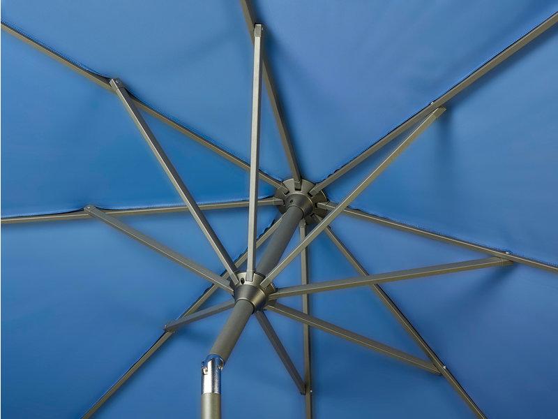 Platinum Riva parasol rond 2.5 m. - Black