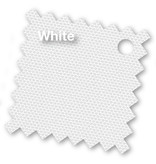 Platinum Riva stokparasol rond 2.5 m. - White