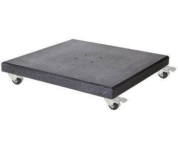 Platinum verrijdbare parasolvoet graniet - 90 kg