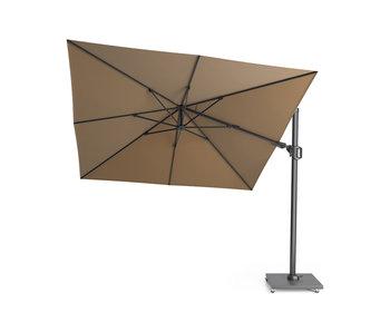 Platinum Challenger T2 parasol - 3x3 m. - Taupe