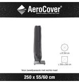 Aerocover - zweefparasolhoes 250x55/60 cm.