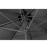 vdgarde Juno stokparasol rond - 300 cm.  Antraciet - Deluxe