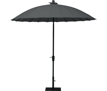 4-Seasons Shanghai parasol 300 cm - Charcoal
