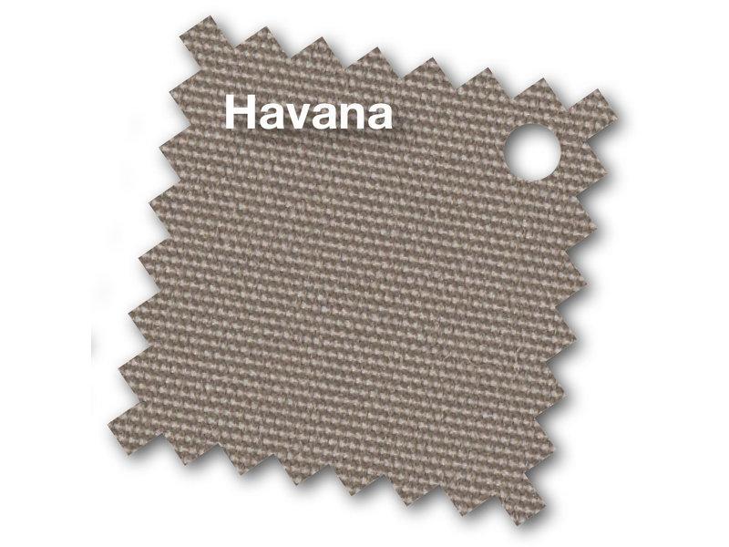 Platinum Challenger rechthoekige zweefparasol T2 Premium - 3,5 x 2,6 m. - Havanna