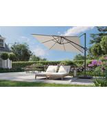 Platinum Platinum Voyager Vierkante Zweefparasol T2 2,7x2,7 m. - Antraciet