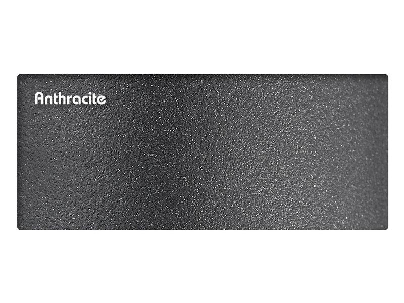 Platinum Platinum Challenger rechthoekige zweefparasol T2 Premium - 3,5 x 2,6 m. - Jet Black