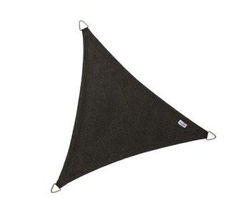 Nesling Coolfit schaduwdoek driehoek 5x5x5m. Zwart