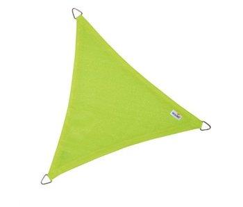 Nesling Coolfit schaduwdoek driehoek 3,6x3,6x3,6m. Lime