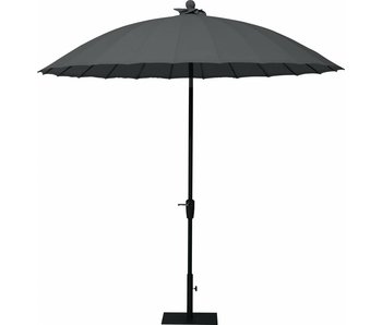 4-Seasons Shanghai parasol 250 cm. Charcoal