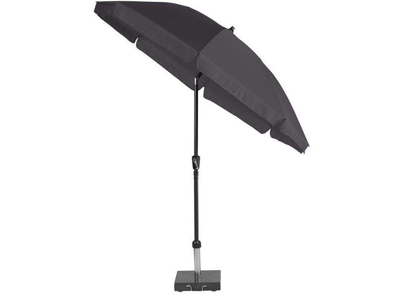 Platinum Cancun ronde parasol 250 cm. doorsnee - antraciet