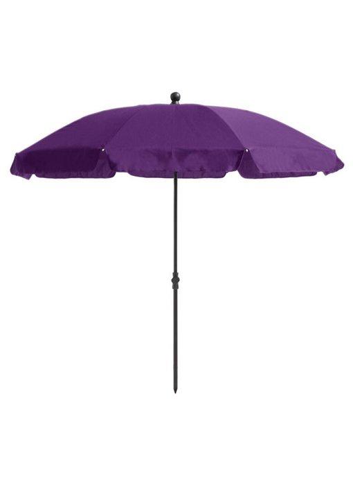 Madison Cyprus parasol 200 cm. paars - kniksysteem