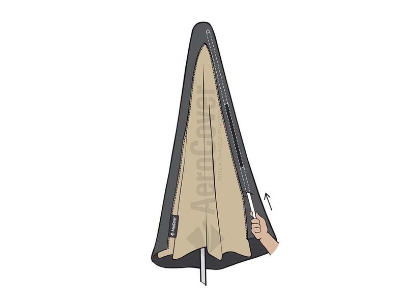 Aerocover - Aerocover parasolhoes voor zweefparasol - boog