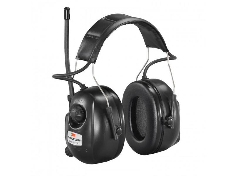 Peltor Gehörschutz mit Radio und AUX-Anschluss