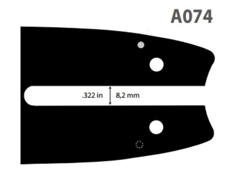 Oregon Micro-Lite Schwert | 1.1mm | 3/8LP | 30cm | 124MLEA074