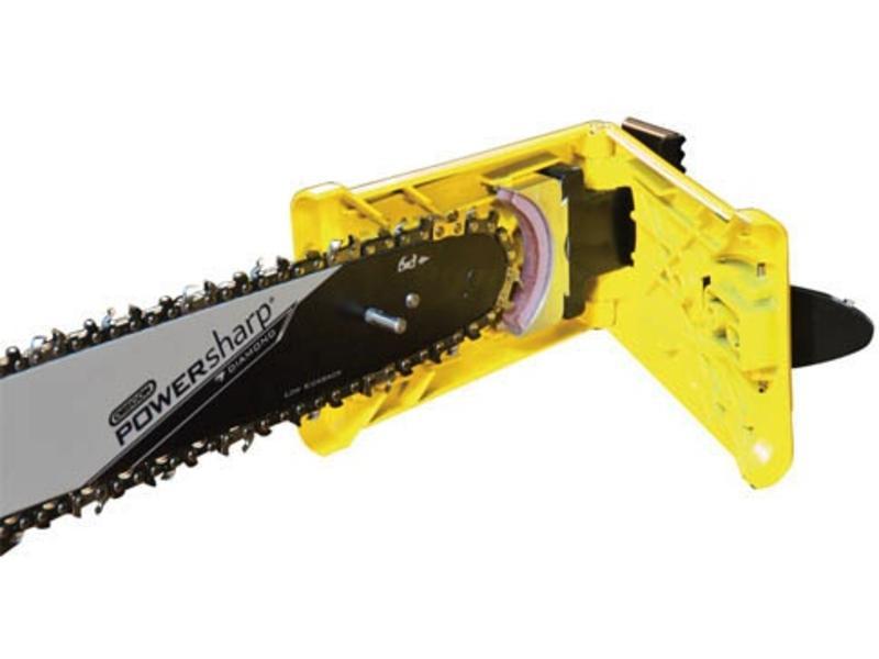Oregon Powersharp Schwert und Scharfgerät | Schärft Ihre Powersharp Kette in 5 Sekunden!
