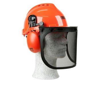 Oregon Schutzhelm mit Gehör- und Gesichtsschutz | Geeignet für Kettensäge und Freischneider!