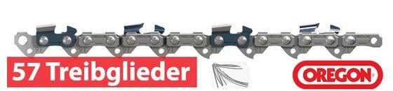 Oregon Sägeketten und Schwerte 1.1mm 3/8LP 57 Treibglieder