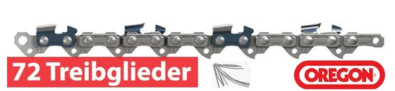 Oregon Sägeketten und Führungsschienen 1.5mm 3/8 72 Treibglieder