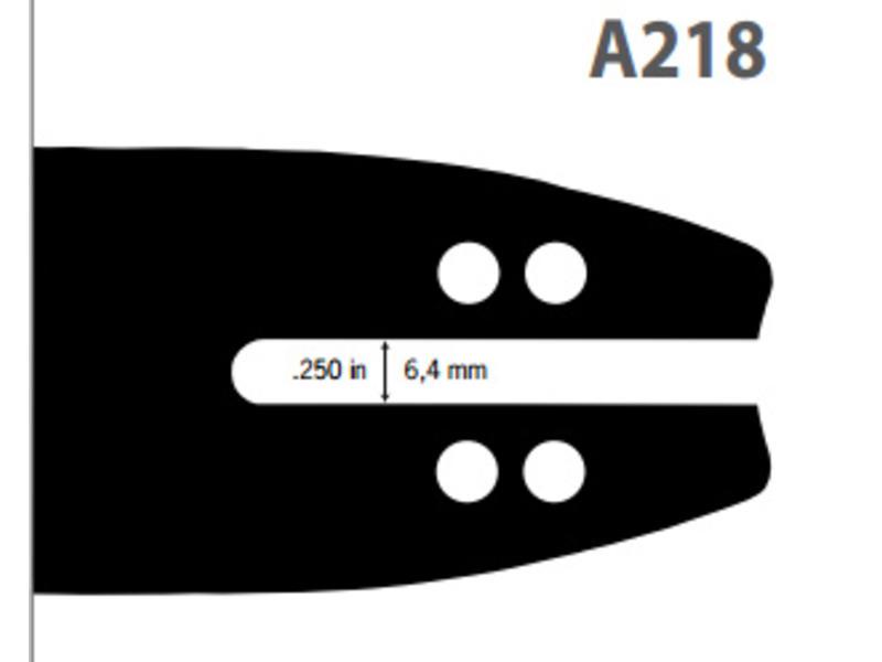 Oregon Führungsschiene Double Guard 91 | 140SDEA218 | 35cm | 1.3mm | 3/8LP