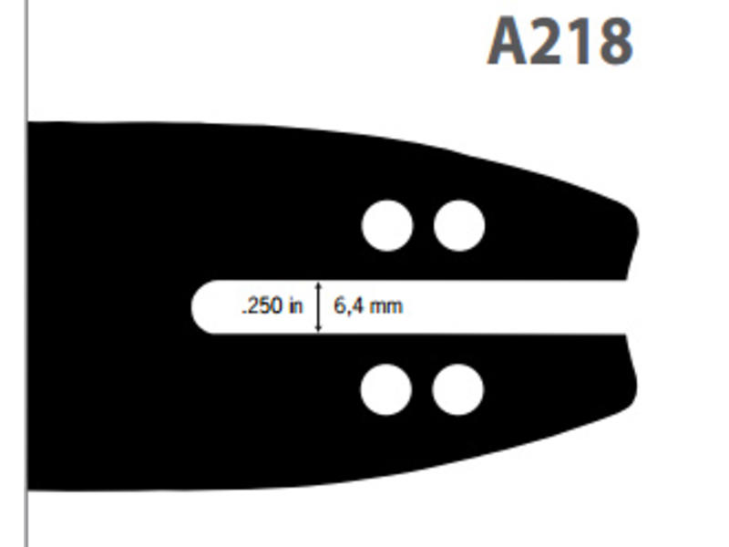 Oregon Schwert Double Guard 91 | 160SDEA218 | 40cm | 1.3mm | 3/8LP