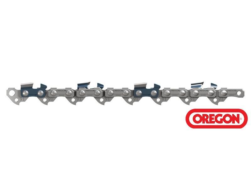 Oregon Sägekette für Kettensäge | 1.3mm | 3/8LP | 42 Treibglieder | Teilenummer 91VXL042E