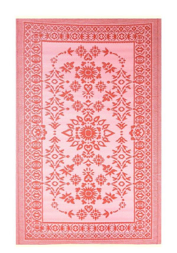 Buitenkleed rood roze groot