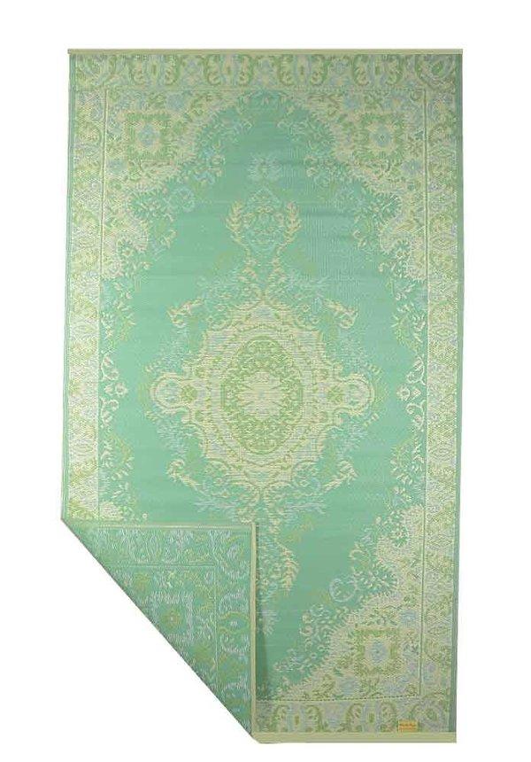 Turquoise bohochic buitenkleed
