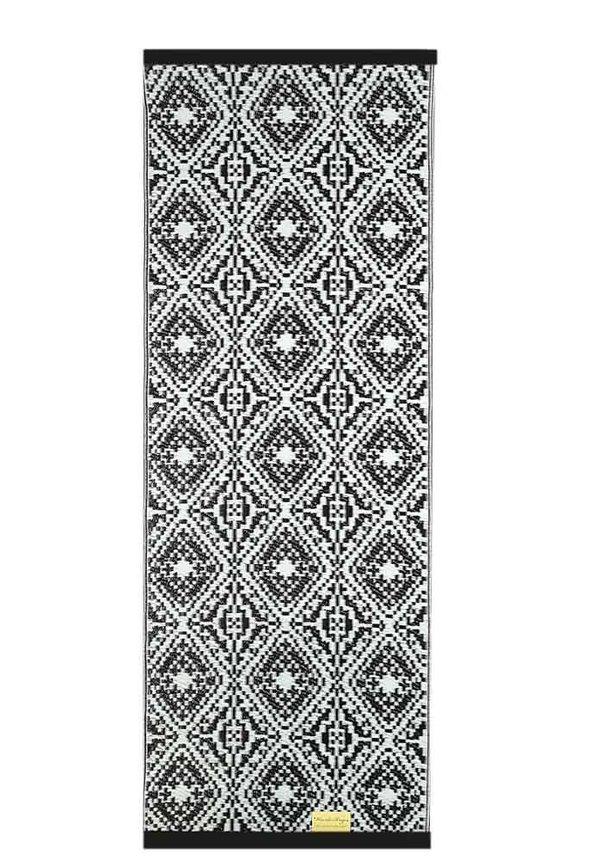 Balkonkleed zwart wit